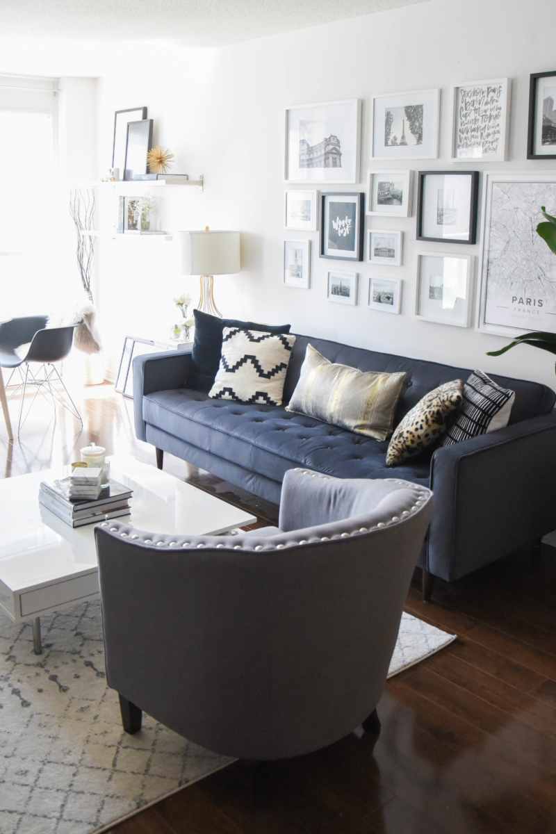 Project Adulting: Living Room Reveal